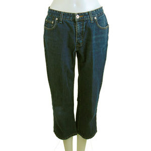 GUESS Original Design Blue Jean Capri Size 31